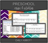 Preschool Music and Activities