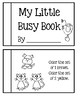 Preschool - My Little Busy Book  #2