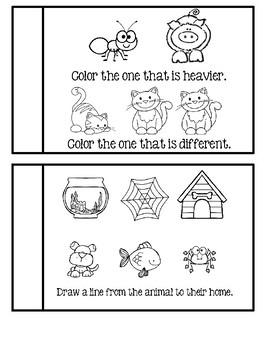 Preschool - My Little Busy Book  #1