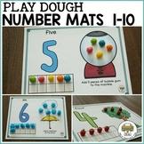 Preschool Number Play Dough Mats (1-10)