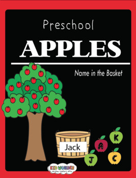 Preschool: Name in the basket