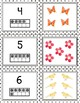 Preschool Nature Walk Counting and Matching 1-10 Cards