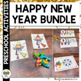New Year's Preschool Activity Bundle