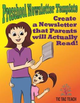 Preschool Newsletter Template and Example– Ensure Parents