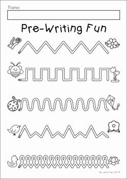 Preschool No Prep Worksheets and Activities FREE SAMPLER