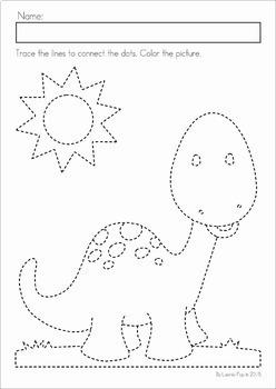 Preschool No Prep Worksheets and Activities MEGA BUNDLE
