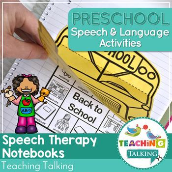 Preschool Notebooks for Speech and Language