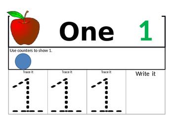 Preschool Number Counter