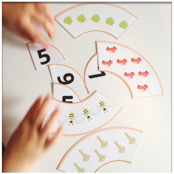 Number Puzzles Count and Match