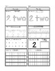 Preschool Number Worksheets