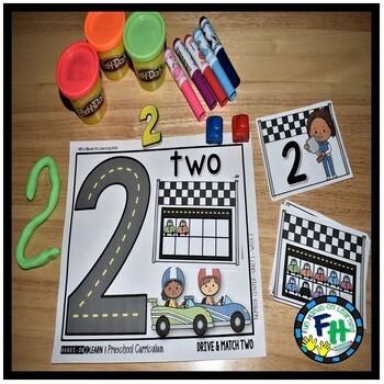Preschool Number Activities & Teachers Guide Pack