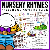 Preschool: Nursery Rhyme Learning Pack