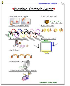 Preschool Obstacle Course