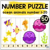 Preschool Ocean Animals Math Counting