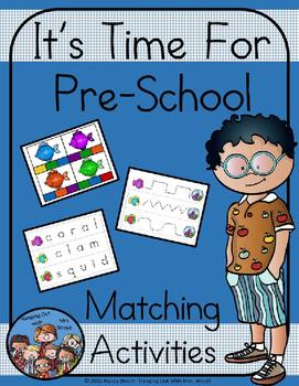 Preschool Ocean Matching Activities