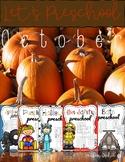 Preschool October Curriculum