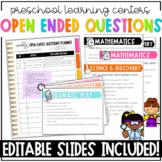 Preschool Open Ended Question Starter Pack
