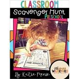 Preschool Open House, Meet and Greet or Orientation Scavenger Hunt