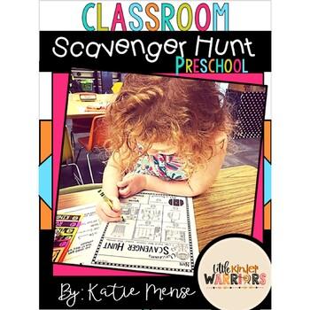 Preschool Open House, Meet and Greet or Orientation Scaven