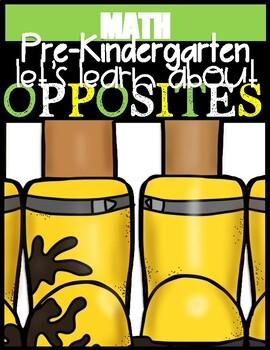 Preschool Oppsites