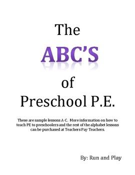 Preschool PE A-C Lessons