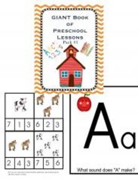 Preschool Pack #1