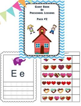 Preschool Pack #2