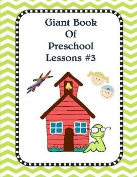 Preschool Pack #3