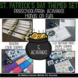 Preschool Pack | St. Patrick's Day Themed Set!