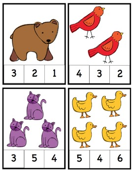 Preschool Packet Brown Bear