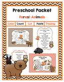Preschool Packet Forest Animals