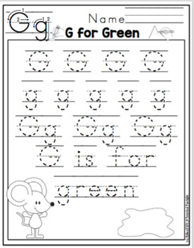 Preschool Packet Mouse Paint's