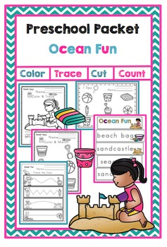 Preschool Packet Ocean Fun