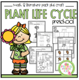 Plant Life Cycle Math and Literature plus Craft