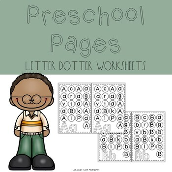 Preschool Pages: Letter Dot