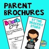 Preschool Parent Brochures