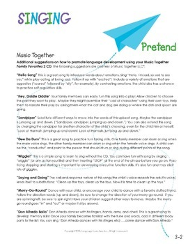 Preschool Parent Handouts Bundle