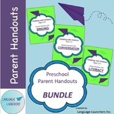 Preschool Parent Handouts Bundle