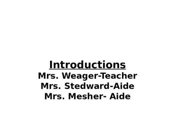 Preschool Parent Orientation Open House Presentation  Precious Preschoolers