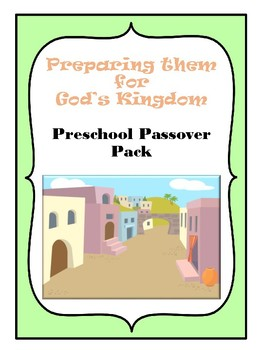 Preschool Passover Pack Color