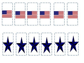Preschool Patriotic Patterning