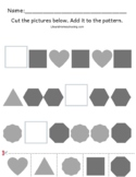 Preschool Patterns Math Activity
