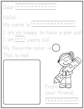 Preschool Pen Pals