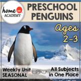 Penguins Preschool - Weekly Unit for Preschool, PreK or Homeschool