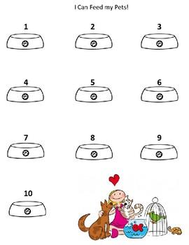 Preschool Pets Math