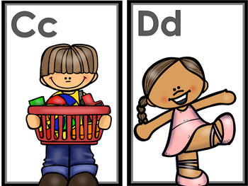 Preschool Phonemic A to Z Song and Movement Cards