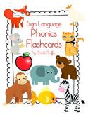 Sign Language Phonics Flashcards