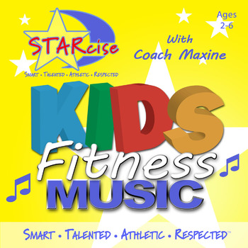 Preschool Physical Fitness Music - Reaching For Your Stars