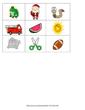 Preschool Picture Sort: S, W, F