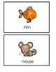 Preschool Picture Word Cards -Freebie #2